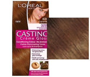 loreal casting crme gloss caramel 630 - Coloration L Oreal Caramel