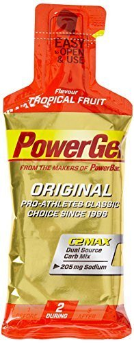 Powerbar Powergel Original - 4 g Pouch x 24 Gels, Tropical Fruit by Power Bar -