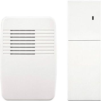 Heath Zenith SL-7357 Wireless Plug-In Door Chime Extender White