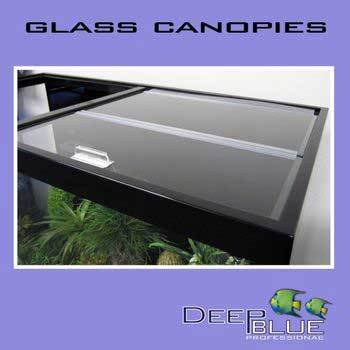 Deep Blue Professional ADB34813 Standard Glass Canopy Set, 48 by 13-Inch