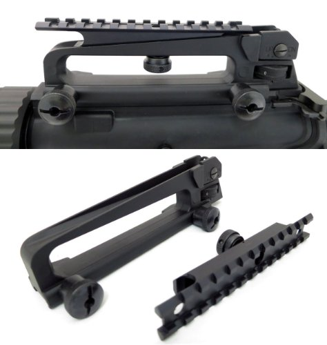 AR-15 Detachable Carry Handle with Rail Mount Package, Outdoor Stuffs