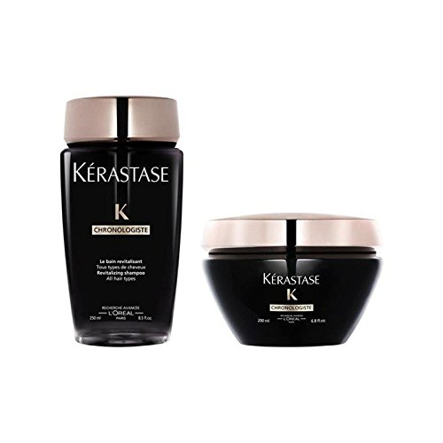 Kérastase Chronologiste Revitalising Shampoo And Masque Duo (Pack of 6) (Revitalising Wash)