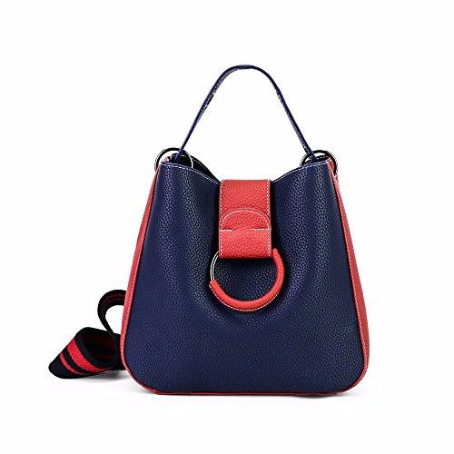 seau chers mode mélangé bandoulière en blue couleur sac sac épaule la w6d5qw