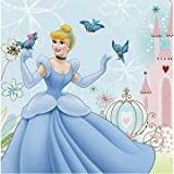 Cinderella Dreamland Lunch Napkins, 16ct