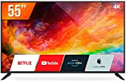 """Smart TV 55"""" Ultra HD 4K Multilaser TL025 3 HDMI 2 USB Bivolt"""