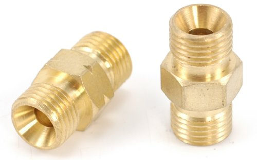 Hot Max 24131 Oxy-Acetylene Hose Coupler / Union Set For Standard Twin Welding Hoses