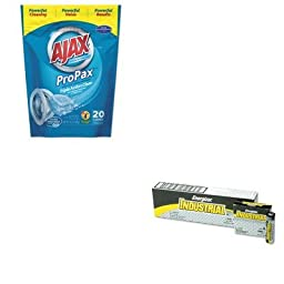 KITEVEEN91PBC49704 - Value Kit - Ajax Toss Ins Powder Laundry Detergent (PBC49704) and Energizer Industrial Alkaline Batteries (EVEEN91)