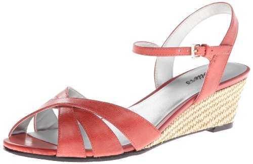 Wedge Pump Mickey Red Women's TROTTERS qwEO66