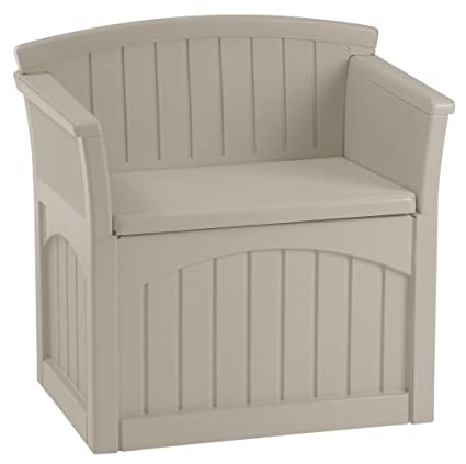 Suncast PB2600 Patio Storage Seat  sc 1 st  Amazon.com & Amazon.com : Suncast PB2600 Patio Storage Seat : Outdoor Storage ...