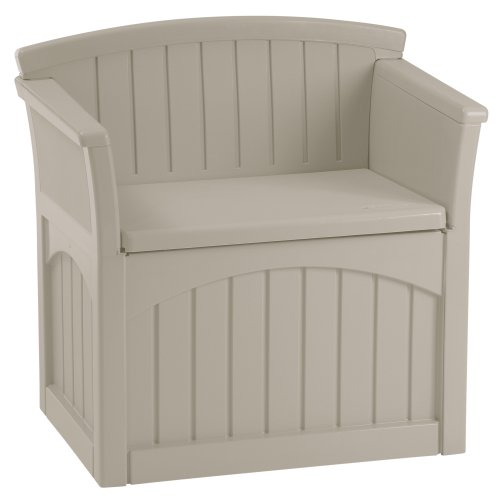 Suncast PB2600 Patio Storage Seat (Large Image)