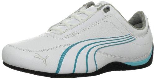 PUMA Women's Drift cat 4 WN's-w, White/Blue Curacoa, 7.5 B US ()