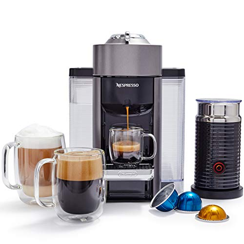 Nespresso by De'Longhi ENV135TAE Vertuo Evoluo Coffee and Espresso Machine, Titan