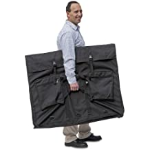 """X-Port Professional Expandable Art Portfolio Case (32"""" x 42"""") Oversized for Art, Foam Boards, Marketing Displays, Trial Exhibits, Advertising Signage, Product Samples, or Flat Screen TV's / Monitors"""
