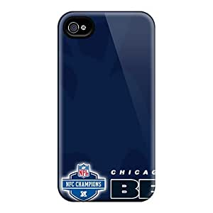 Excellent Design Phone Cases For Iphone 4/4s Premium Chicago Bears Cases