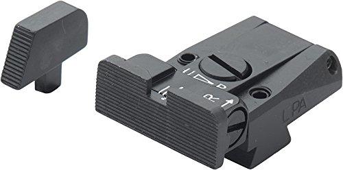 Browning Vigilant Black Serrated Adjustable Sight Set by Fusion (Image #1)