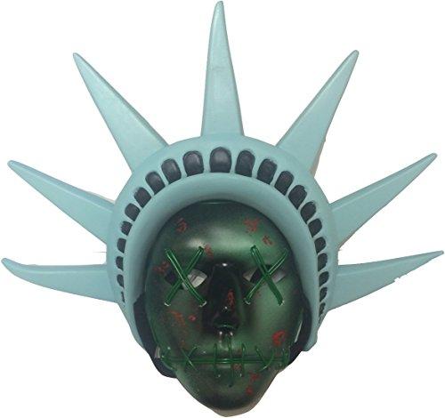 The Purge Costumes Tutorial - The Purge LED Light up Mask