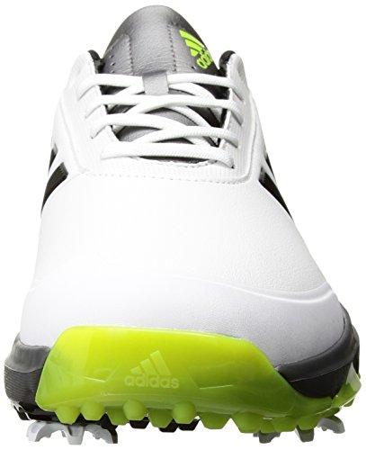 Adidas Mens Adipower Rimbalzare Scarpe Da Golf Ftwr Bianco / Core Nero / Melma Solare