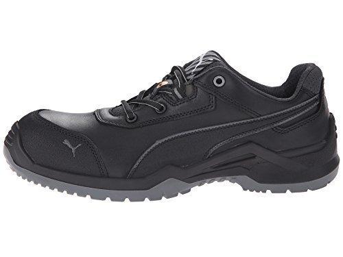 PUMA Safety Men's Argon Low Black Sneaker 10 W