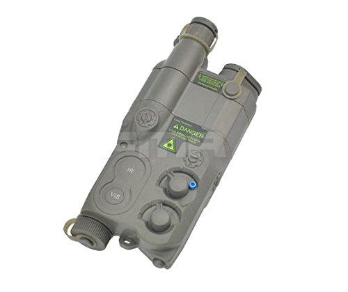 Tactique Airsoft AN / PEQ-16 Batterie Boîte Feuillage Vert FG Mannequin AEG avec RIS Monture WorldShopping4U
