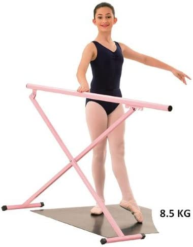Height Adjustable Ballet Stretch Ladder Portable Professional Dance Bar Freestanding Mobile Adult Child Leg Press Bar JLFSDB Ballet Barre Bar