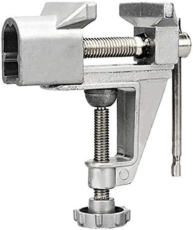 新しいミニテーブルバイス、DIYクラフト金型を修正修復ツールのための30mmのアルミ合金の機械ベンチねじバイスベンチクランプねじバイス