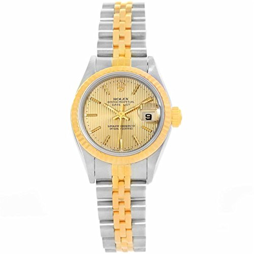 Rolex Datejust automatic-self-wind womens Watch 69173 (Certified Pre-owned) by Rolex (Image #2)