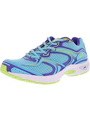 Avia Womens Endeavor Winter Blue/Purple Iris/Wild Lime Ankle-High Cross Trainer Shoe – 10W