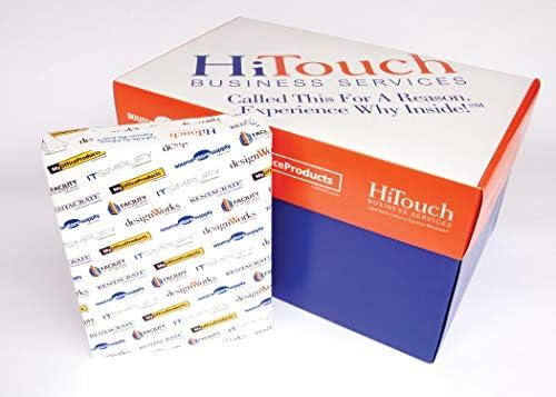 Copy Paper, Multipurpose, 8-1/2x11, White 98 Brightness, Carton of 10 Reams
