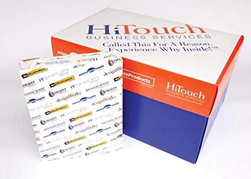 Copy Paper, Multipurpose, 8-1/2x11, White 98 Brightness, Carton of 10 Reams ()