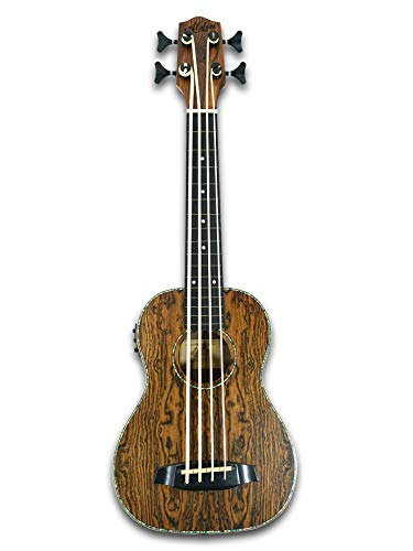 "Used, 30"" Fretless Electric Acoustic Ukulele Bass, satin for sale  Delivered anywhere in USA"