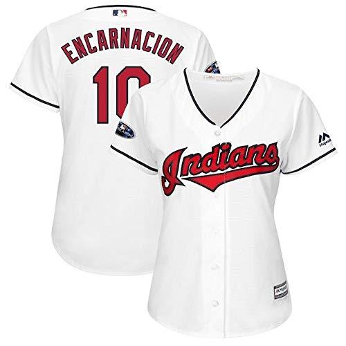 Majestic Majestic Edwin Encarnacion Cleveland B07J6GLNF6 Indians Edwin Women's White S 2018 Postseason Home Cool Base Player Jersey スポーツ用品【並行輸入品】 S B07J6GLNF6, 久兵衛:23c7e40d --- cgt-tbc.fr