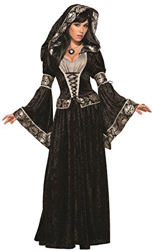 Forum Novelties 79011 Dark Sorceress Costume, Uk Size 10 - (Sorceress Witch Costume)