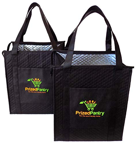 insulated bag with zipper - 8