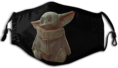 N//A Bandanas Baby Yoda Pa/ñuelos faciales para ni/ños