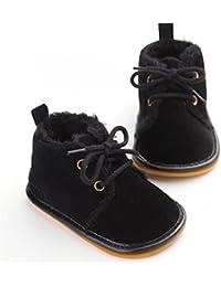 Winter Newborn Unisex Baby Girls Boys Velvet Rubber Sole Anit-Slip Shoes Prewalker Boots