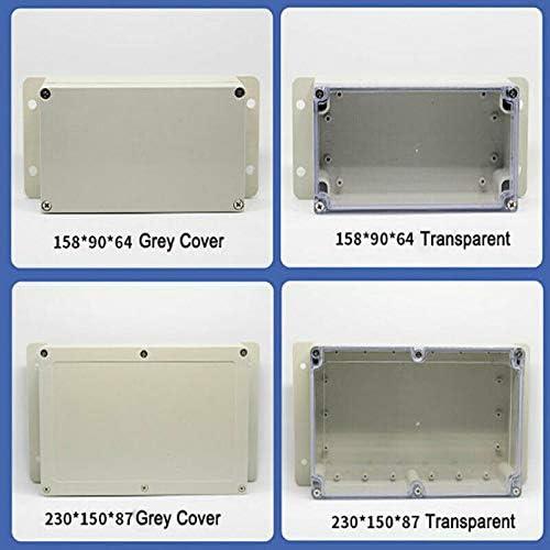 SUPERTOOL Bo/îte de d/érivation /étanche IP65 Bo/îtier de projet /électrique ABS Bo/îtier de bricolage pour projets /électroniques unit/és dalimentation blanc 27 tailles