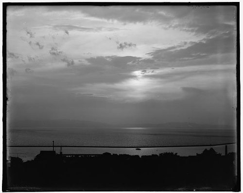 Photo: Sunset sky across Lake Champlain,Burlington,Vermont,Detroit Publishing - Burlington Shopping Vermont