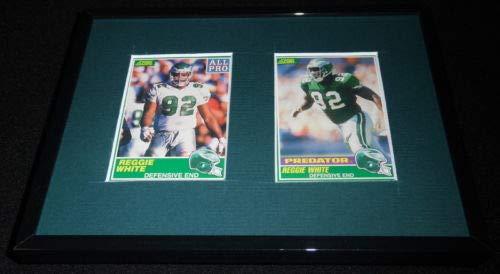 Reggie White Framed 1989 Score VINTAGE Card Set Eagles