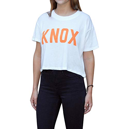 - Bandwagon Nash Knox Cropped T-Shirt (White, Small)
