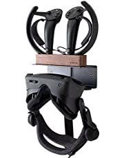 VRGE - Valve Index VR Wall Mount Charging Stand Station : Holds Both Valve Index VR Headset and charges USB VR Controllers
