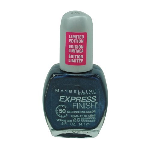 (Maybelline Express Finish Nail Color -115 Notorious Navy)
