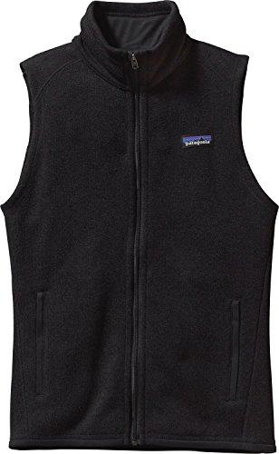 パタゴニア アウター ジャケット?ブルゾン Patagonia Women's Better Sweater Fleece Black [並行輸入品]
