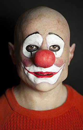 Realistic Silicone Mask Clown Ron by The Masker (Hand Made)