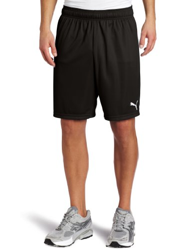 Puma Youth Team Shorts Large Black/White