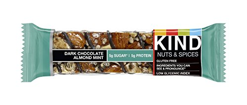 KIND Nuts & Spices xzrxl Bars - Dark Chocolate Almond Mint - 36 Count by KIND