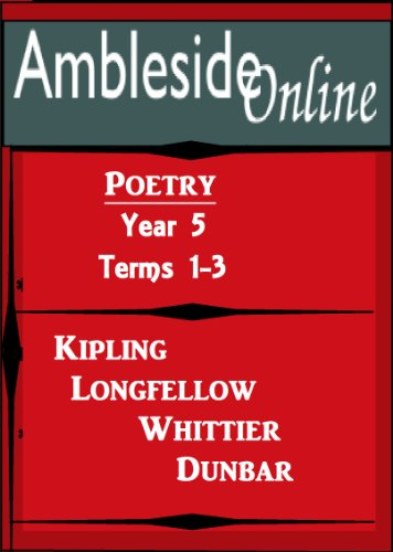Amazon Amblesideonline Poetry Year 5 Terms 1 3 Ebook Paul