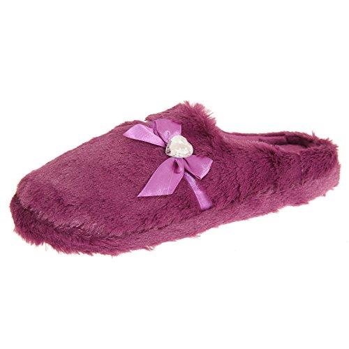 Foam Bordeaux Con Dreaming Forever Pantofole Memory Soffici Donna UywRxXqFa