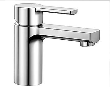 Blanco DEVIN-WT, Waschtischarmatur, Einhebelmischer für Badezimmer ...