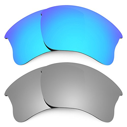 Revant Replacement Lenses for Oakley Flak Jacket XLJ 2 Pair Combo Pack - Lenses Flak Xlj G30 Jacket