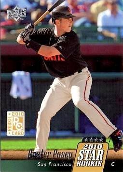 2010 Upper Deck Baseball #28 Buster Posey Rookie ()